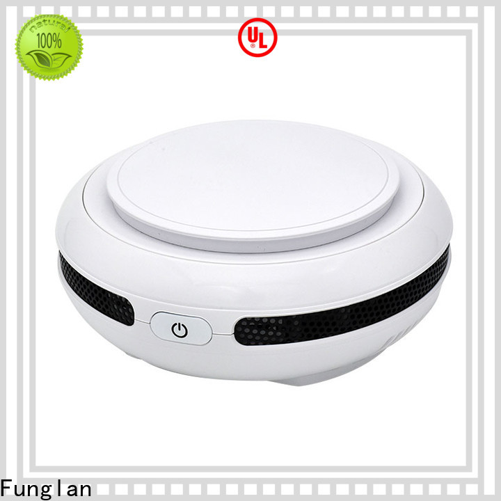 Funglan Latest car air ionizer factory for purifying car odors